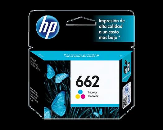 Cartucho de Tinta HP 662. Tricolor