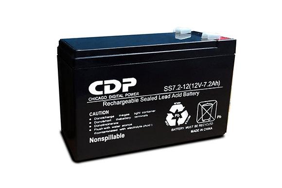 CDP Batería Sellada SS7-12/7, 12V, 7.2A