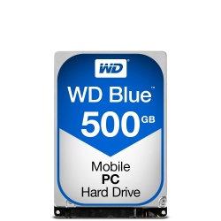 Disco Duro para Laptop Western Digital WD Blue 2.5'', 500GB, SATA III, 6 Gbit/s