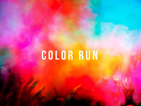 Dyeing to Run - Hertfords first Colour run by Run Hertford - 8th Septemebr 2019