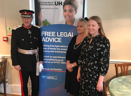 Sucessful Launch of Family Law Clinic at Vale House