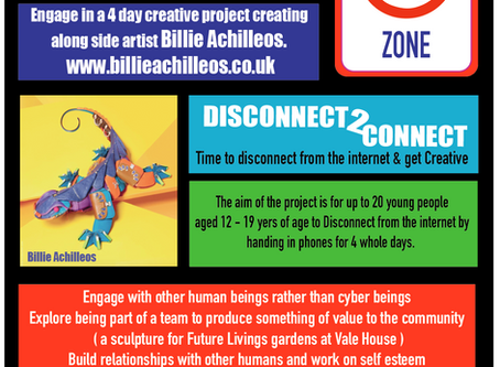 Disconnect to Connect - Young people and Art
