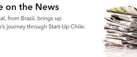 Beagle on the News. Farol Digital brings up the Beagle's journey through Start-Up Chile.