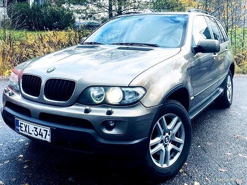 BMW X5 ** Suomi-Auto** Xenon ** Nahat **