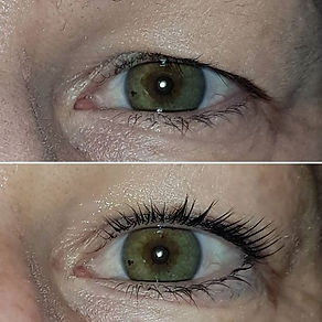Check out this lash lift! I just love se