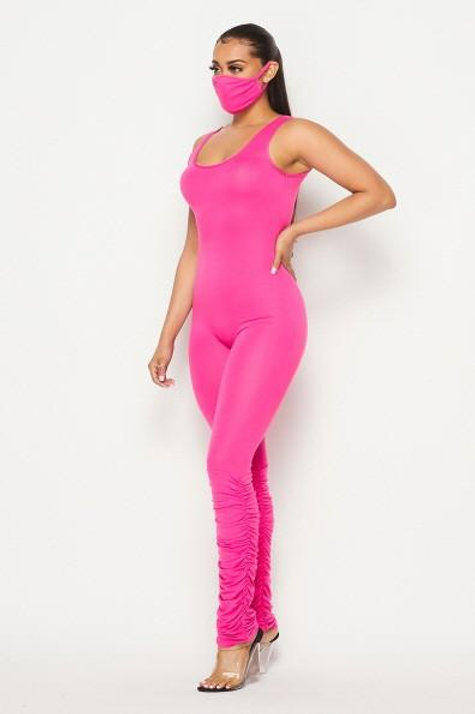 Neon Jumpsuit Set