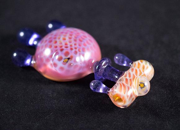 Plug-A-Nug BeeDrip Honeycomb Pendant
