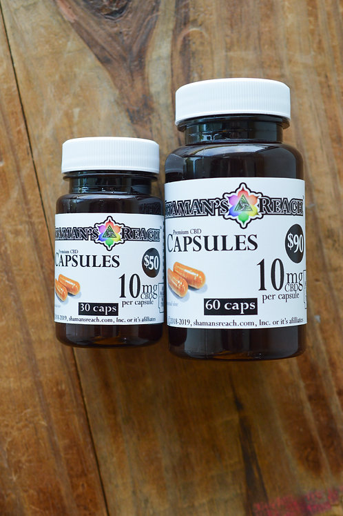 Absorption Complex Capsules 10mg/30mg CBD (MSRP: $59.95-$108.99)