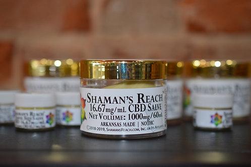 Shaman's Reach Inc CBD Salve (MSRP: $34.99-109.95)