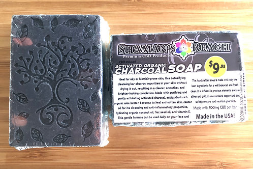 CBD Activated Charcoal Soap (MSRP: $9.95)