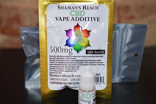 CBD Vape Additive 5ml/500mg CBD (MSRP: $39.95)