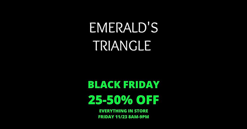 BLACK FRIDAY 20-50% OFF