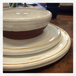 Handdrejad keramik