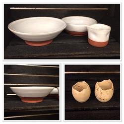 Handdrejad keramik till omakase köttslöjd _omakasekottslojd  #stockholm #gamlastan 🍶 #keramik #hand