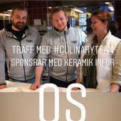 OS dags snart för #Culinary team #Stockh