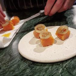 En till Reinsta _restaurangflickan #gamlastan #stockholm på #cajohandmade #ceramic #ceramics #foodlo