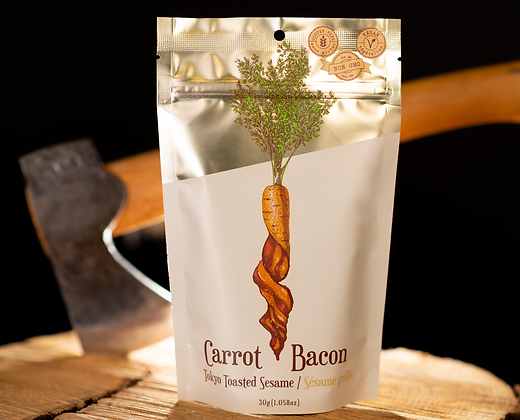 Tokyo Toasted Sesame Carrot Bacon
