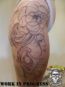 Tattoo en cours