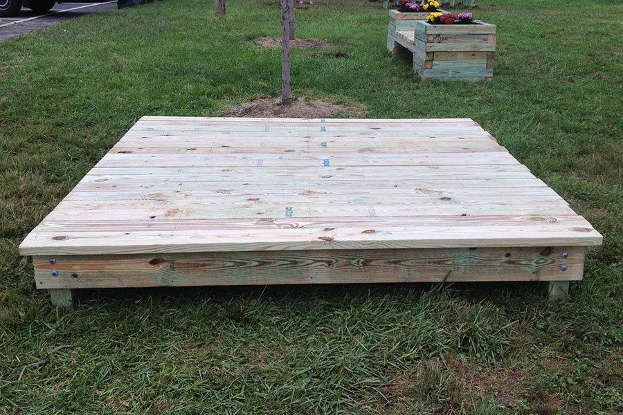 Wooden Stage Platform-Up to 12 Platforms