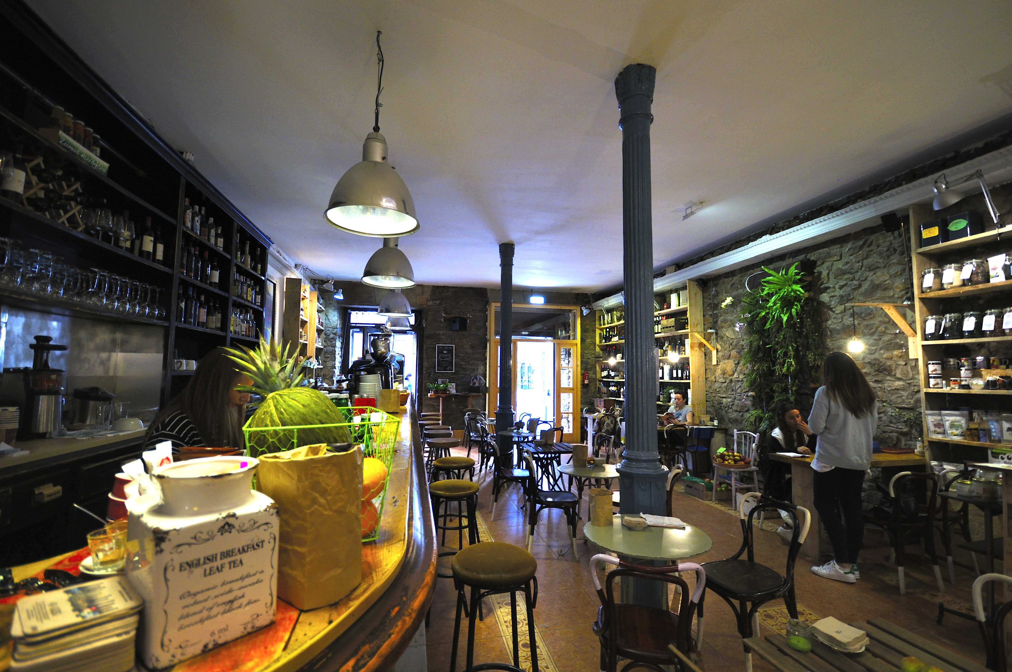 Reforma Cafetería Green Bio Tuteate