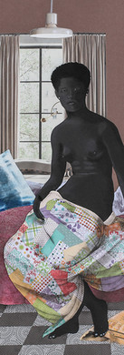Rudy Cole Art- Lady On Bed-  2018.jpg