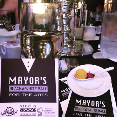Mayor's Black and White Ball