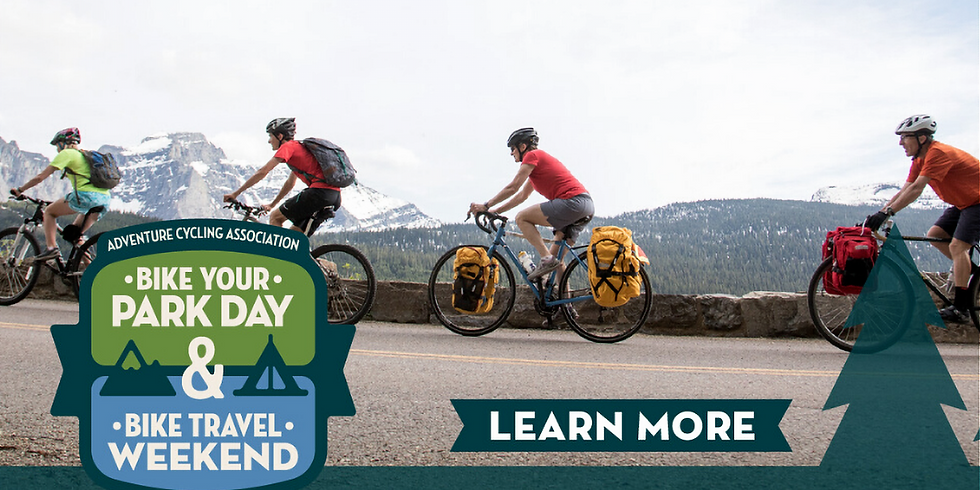 Join Adventure Cycling to Learn More About Bike Travel Weekend & Bike Your Park Day