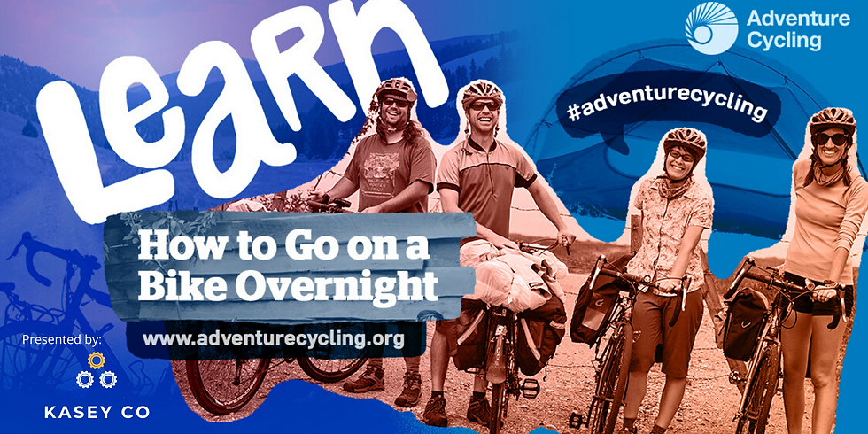 How to Go on A Bike Overnight