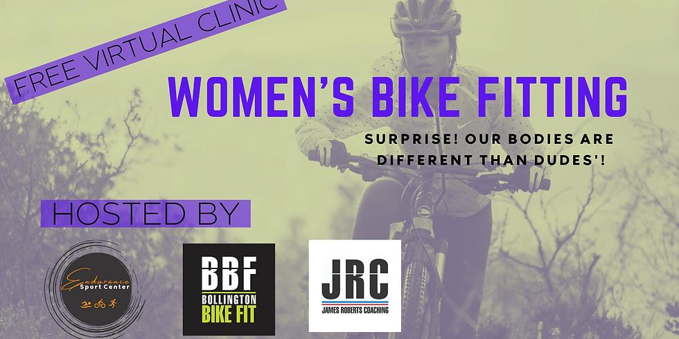 Women's Bike Fit Free Virtual Clinic