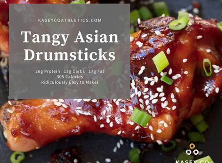 Tangy Asian Drumsticks