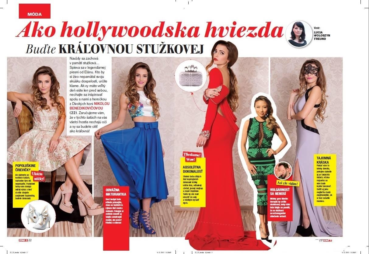 editoriál v časopise Star