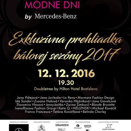 Nová kolekcia na Bratislavských módných dňoch