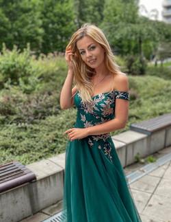 šaty Smaragd