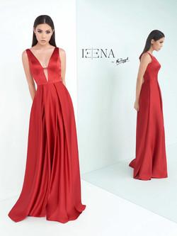 šaty Zaira červené