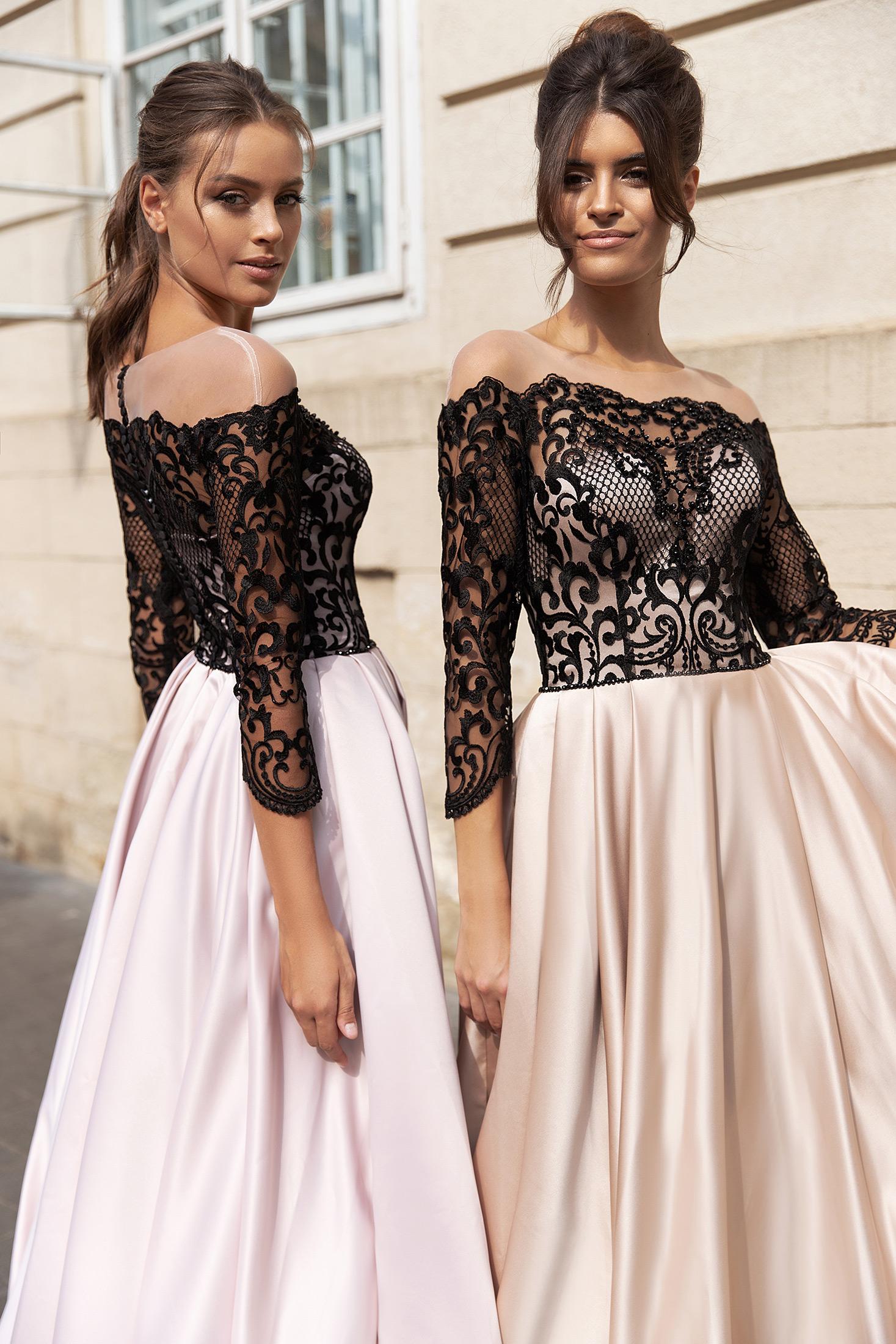 luxusné šaty Barbara ( máme v zlatej )