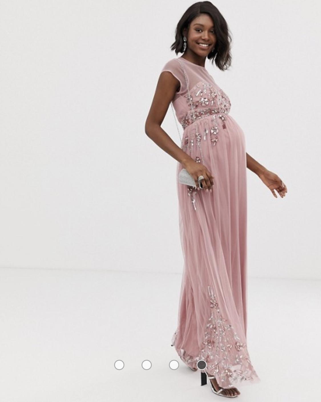 šaty Nika sú vhodné aj ako tehotenské