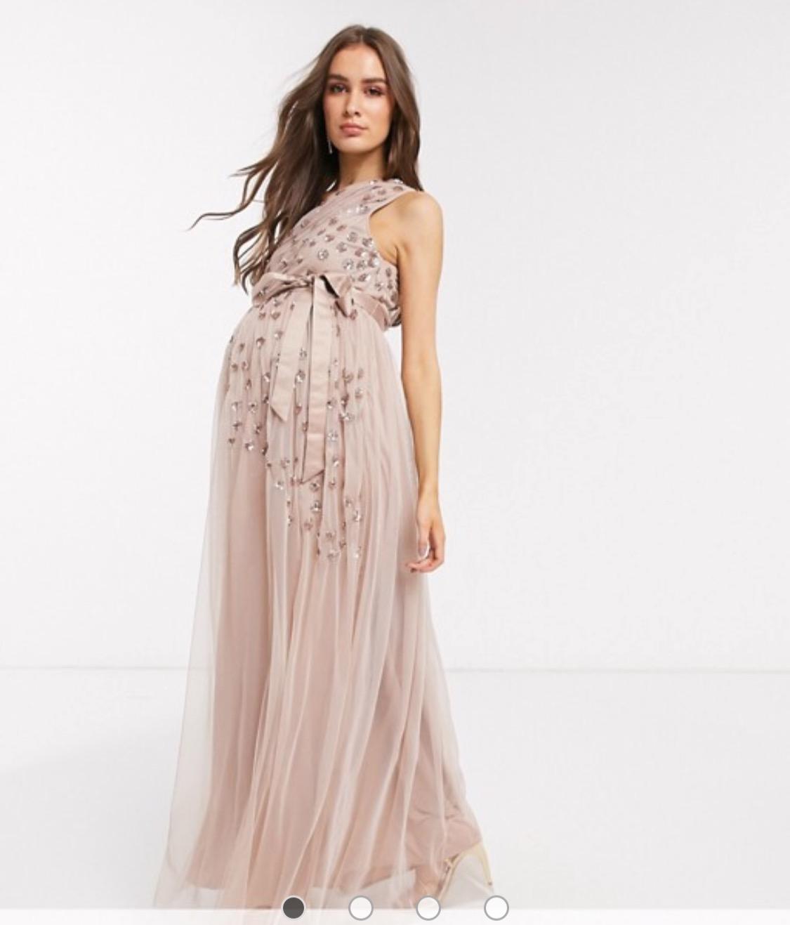 šaty Luisa sú vhodné aj ako tehotenské