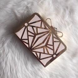 jemná ružovo zlatá kabelka
