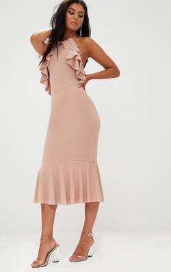 béžové šaty výpredaj 45€