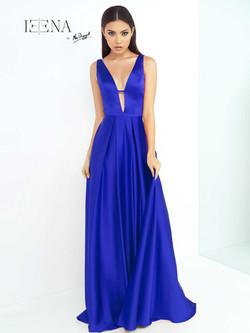 šaty Zaira modré