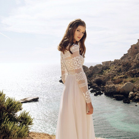 Boho svadobné šaty  -  nový trend pre modernú nevestu