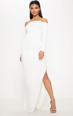 šaty Salma biele