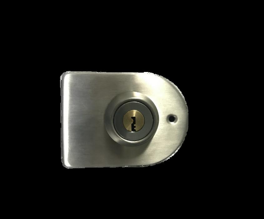 6. Chapa ovalada llave x llave