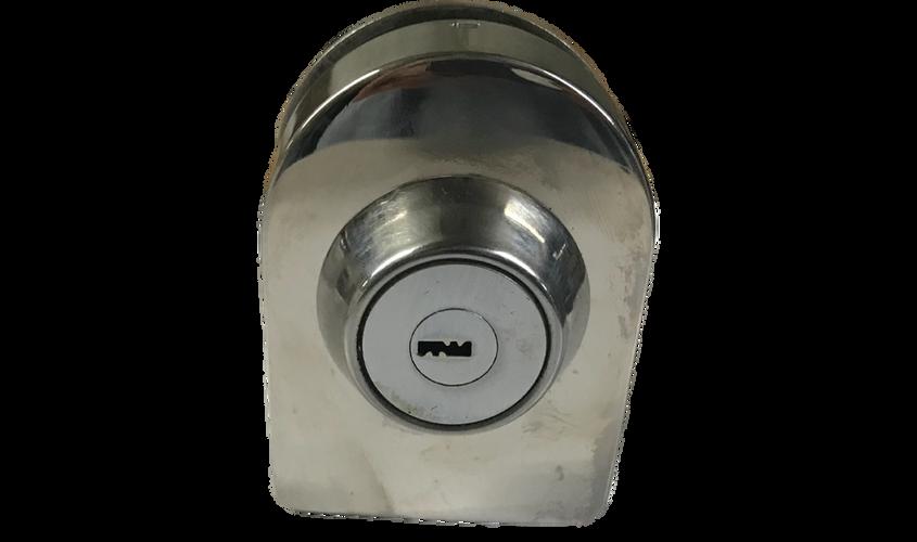 11. Chapa ovalada llave x llave sin recibidor