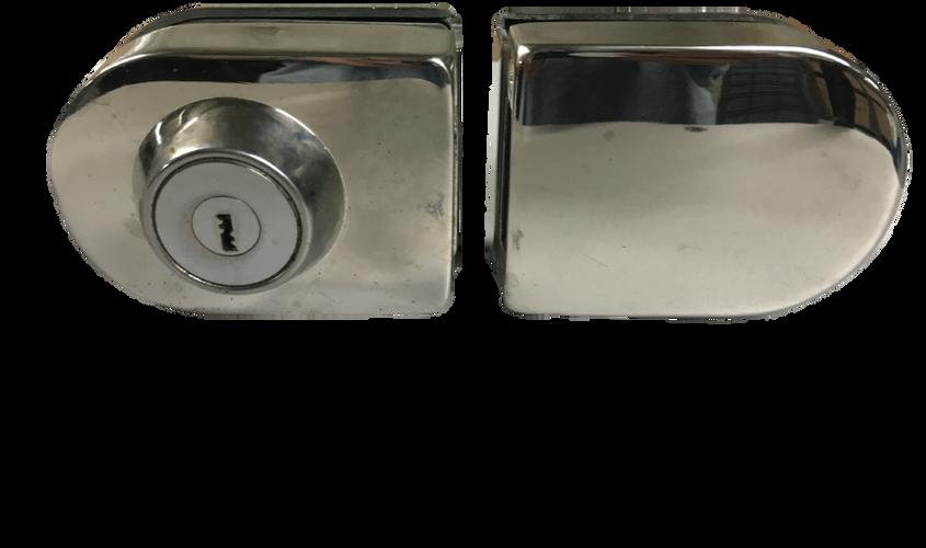 3. Chapa ovalada llave x nada con recibidor