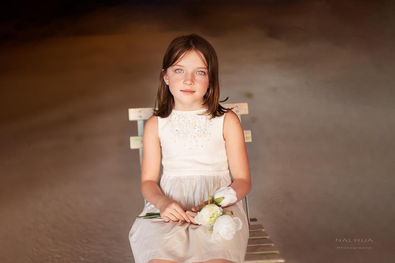 Photo de petite fille mystère