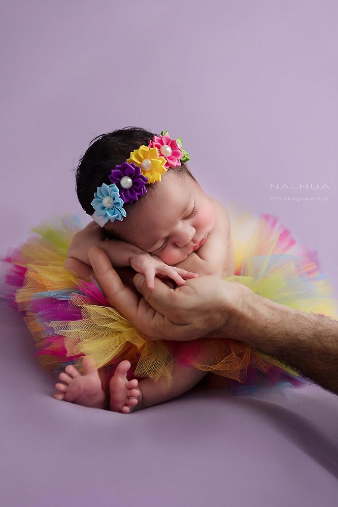 Nouveau-né en tutu