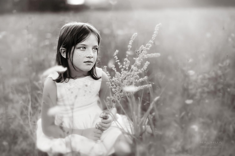Petite fille des champs
