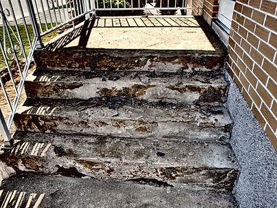 transformation d'escalier
