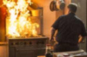 Feu classe F - Couvertures anti-feu contre les incendies